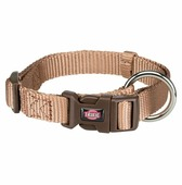 Ошейник TRIXIE Premium Collar M-L 35-55см/20мм карамель