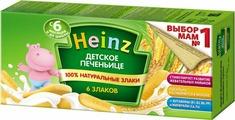 Печенье Heinz детское из 6 злаков, с 6 месяцев, 160 г