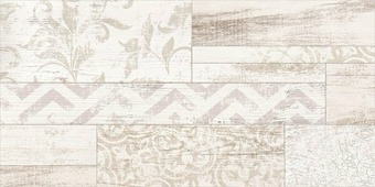 Beryoza Ceramica Сан-Ремо Геометрия Микс белый 500x250