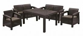 Комплект мебели KETER Corfu Fiesta (Кетер Корфу Фиеста), коричневый