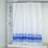Штора для ванной Aquarius 49249, голубой