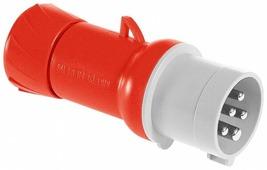 Вилка кабельная, винтовая 3P+N+E 32А IP44 Schneider Electric, PKE32M435