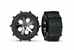 "TRAXXAS Колеса в сборе Paddle Tires 2.8"""