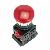 IEK Кнопка красная с фиксацией AEAL-22 Гриб без подсветки 1з+1р 240В (BBG60-AEAL-K04)