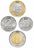 Монета Молдавия набор 2018 года (1,2,5 и 10 лей) C451701