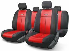 """Авточехлы Autoprofi """"TT"""", цвет: черный, красный, 9 предметов. TT-902V BK/RD"""