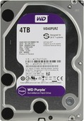 Жесткий диск 4Tb Western Digital WD40PURZ Purple (SATA-6Мb/s, 5400rpm, 64Мb)