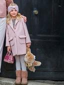 Электронная выкройка Burda - Пальто для девочки №135