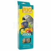 RIO Sticks Fruit and Berries палочки для попугаев с фруктами и ягодами, 2*75гр