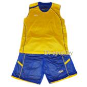 Форма баскетбольная Ayoun сине-желтая