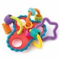 Playgro Игрушка: Развивающая погремушка-прорезыватель Колечки