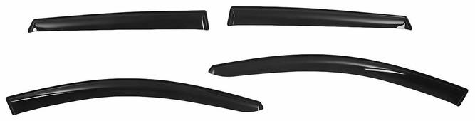 """Дефлекторы окон Voron Glass """"Corsar"""", для Kia Ceed I 5d 2007-2012, Hyundai i30 I 5d 2007-2012, хетчбек, 4 шт"""