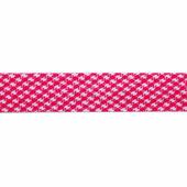 """Бейка косая х/б """"Полоски, клетка, горошек"""", 14 мм, 60 м (цвет: 173, розовый), арт. 08-105"""