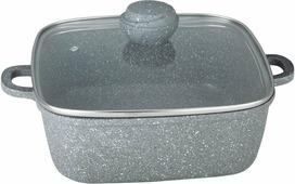Кастрюля Bekker Bekker Silver Marble 3,9 л
