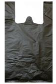 Пакет майка, 46*60 см, 15 мкм (30+16*60, черная). В упаковке 100 шт.