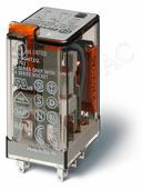 Реле с 4 перекидными контактами (=24В DC) 7А Finder, 553490240040