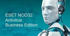 Право на использование (электронно) Eset NOD32 Antivirus Business Edition for 136 user продление 1 год