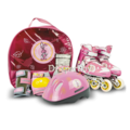 Коньки роликовые MaxCity Little Rabbit combo pink L(39-42)