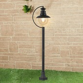 Столб фонарный уличный Talli Talli F черный (GL 3002F)