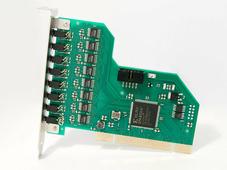 AViaLLe A16 Плата аудиозахвата на 16 каналов аудио (моно), интерфейс PCI.