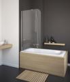 Стеклянная шторка для ванны Radaway Torrenta PNJ 80 x 150 80 / 150 см