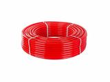 Труба PE-RT для теплого пола 16(2,0) бухта 100м красная РосТурПласт (Трубы для теплого пола (PE-RT))