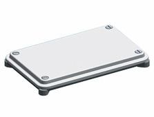 Сальниковые панели ZW 53 Фланец 4xPG21, 12PG13.5 ABB