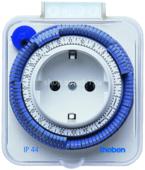 Таймер электромеханический розеточный Theben-timer 26 IP44