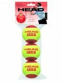 Теннисные мячи для большого тенниса Head T.I.P. Red, 3 шт.