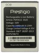 Аккумулятор для Prestigio Muze G3 LTE (PSP3511 DUO) 2400мАч