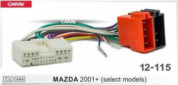 Переходник для подключения магнитолы CARAV 12-115 - Штатный ISO MAZDA 2001+