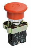 IEK Кнопка управления LAY5-BT42 /Грибок/ аварийная с фиксацией (BBG80-BT-K04)
