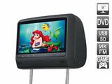 """AVEL Подголовник со встроенным DVD плеером и LCD монитором 9"""" AVIS AVS0943T (черный)"""