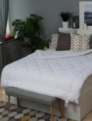 Одеяло Шерстяное 200Х220 Классика В Поплине