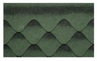 Гибкая битумная черепица Kerabit S+ Зелено-черный