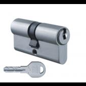 Цилиндровый механизм EVVA ICS ключ-ключ никель 41x41
