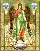 Иконы ангелов и архангелов. Серия: ИК, Размер (см): 40х50. Ангел Хранитель (рукописная икона)