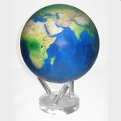Глобус вид Земли из космоса диаметр 22 Mova Globe MG-85-STE-NE