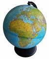 Глобус физический на английском языке d=25 см Глобусный мир 10500