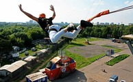 Роупджампинг/Тарзанка - экстремальный прыжок с веревкой с вышки высотой 24м