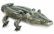 Надувная игрушка Intex 57551 для плаванья Крокодил 170x86 см