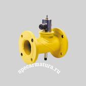 Клапан запорный газовый электромагнитный КЗГЭМ-200НД