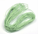 Шнур вощеный, 1,2 мм, цвет: салатовый, 20 м