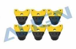 Ножки шасси (желтые) для Align MR25 4шт