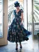 Электронная выкройка Burda - Платье с отрезной юбкой 1