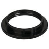 Ecola base Кольцо дополнительное к патрону E27 Черный (1 из уп. по 100) RB7SPBEAY