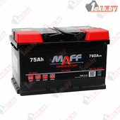 Автомобильный аккумулятор MAFF Premium (75 A/h), 780А L+ высокий