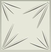 Эко панель бамбуковая – Rays, 500х500х15mm