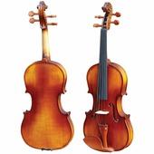 HMI HV-100F 3/4 Скрипка Student 3/4, в кейсе, смычок, канифоль, верхняя дека - ель, нижняя дека, о