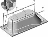 Каркас для ванны VentoSpa Aqua/Serena 150 x 70 150 / 70 см